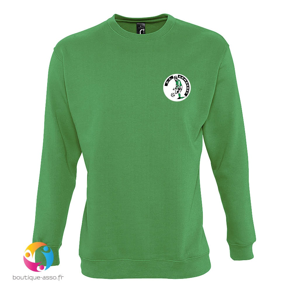 SWEAT-SHIRT UNISEXE COL ROND - A.S. Gamaches